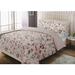Bed Set Floral Butterfly
