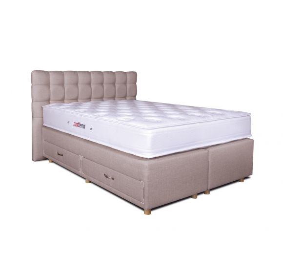 Diva Bed Base with 4 drawers - 1