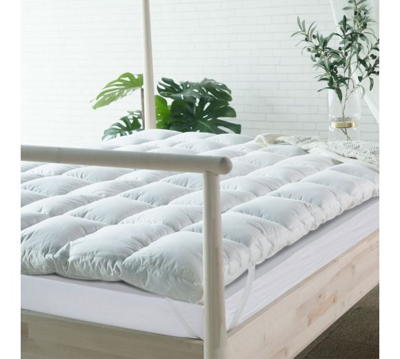Goose Down mattress topper - 1