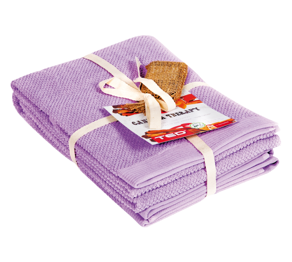 Canella Therapy towels' set - 350 gr. - 2