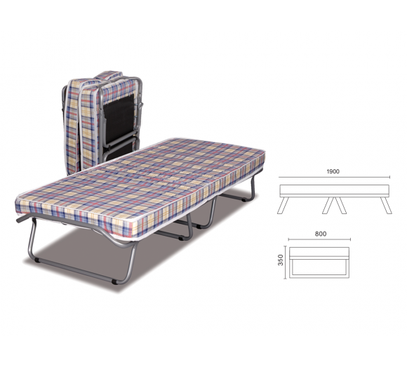 Convertible bed Plain New - 2