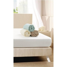 Fitted Sheet Light Green