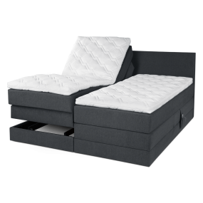 Polaris plus el Boxspring Bed