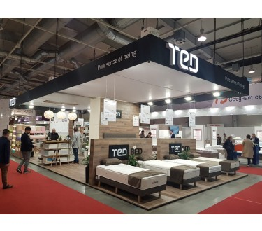 TED takes part in the exhibition World of Furniture with upgraded portfolio